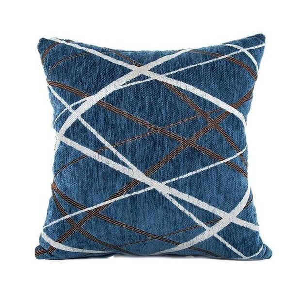 Stylish Simplicity Polyester Cushion Cover-A233
