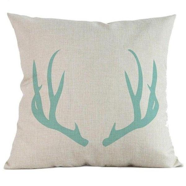 Geometric cushion covers soft fabric Throw Pillow Case-A282