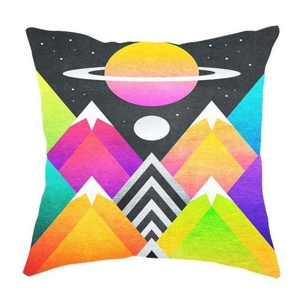 Geometric Pillow Case Waist Cushion Cover Sofa Home Décor-A260