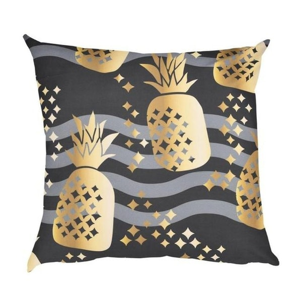 Pineapple Print Cushion Cover 45x46-A222