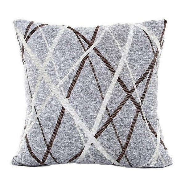 Stylish Simplicity Polyester Cushion Cover-A235
