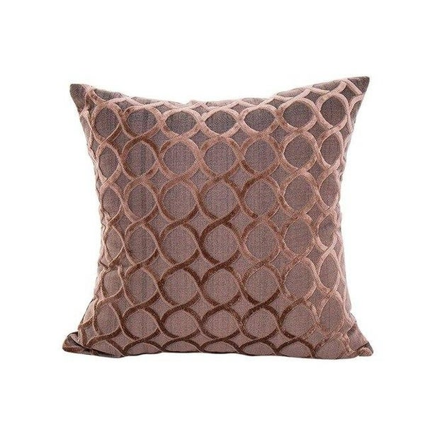 Soft Polyester Square Throw Pillow Cases Home Décor-A217
