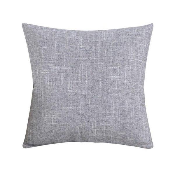 Pillowcase Simple Plain Decorative Cushion Cover Home Decoration-A278