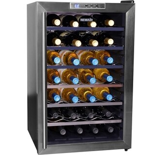 NewAir AW-281E-BL Refurbished Thermoelectric Wine Cooler - N/A