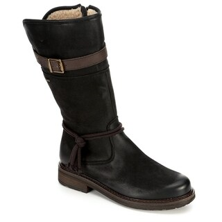 Link to Highland Creek Womens Water Repllent Mid Calf Leather Boot Shoes Similar Items in Women's Shoes