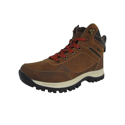 Highland Creek Mens Casual Lace Up Ankle Work Boot Shoes