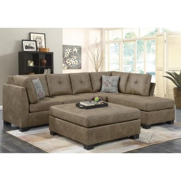 Ham Microfiber Sofa Set Free Shipping Today 25435285