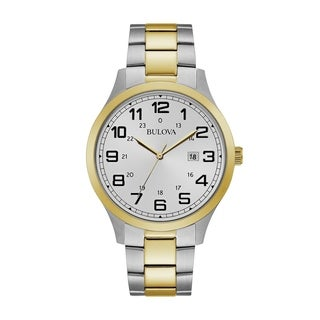 Bulova Men's 98B304 Two-tone Bracelet Watch