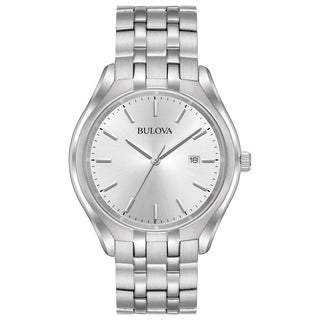 Bulova Men's 96B264 Stainless Silver Dial Bracelet Watch