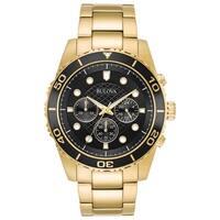 Bulova Men's 98A173 Marine Star Goldtone Chrono Bracelet Watch