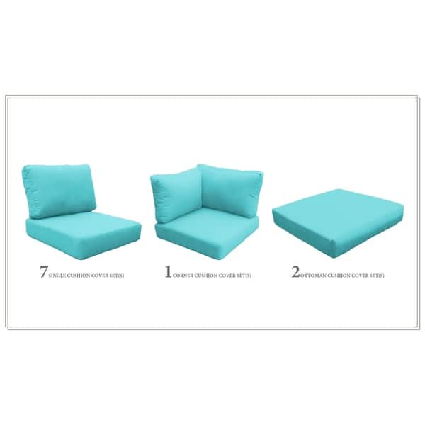 Phenomenal Shop Tk Classics High Back Acrylic Cushion Set For Coast 14A Dailytribune Chair Design For Home Dailytribuneorg