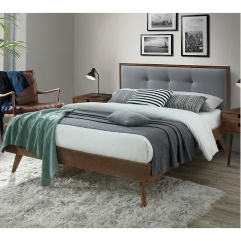 Montana Queen Upholstered Platform Bed