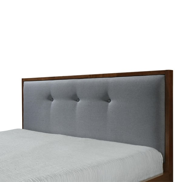 Prime Shop Montana Queen Upholstered Platform Bed Free Shipping Evergreenethics Interior Chair Design Evergreenethicsorg