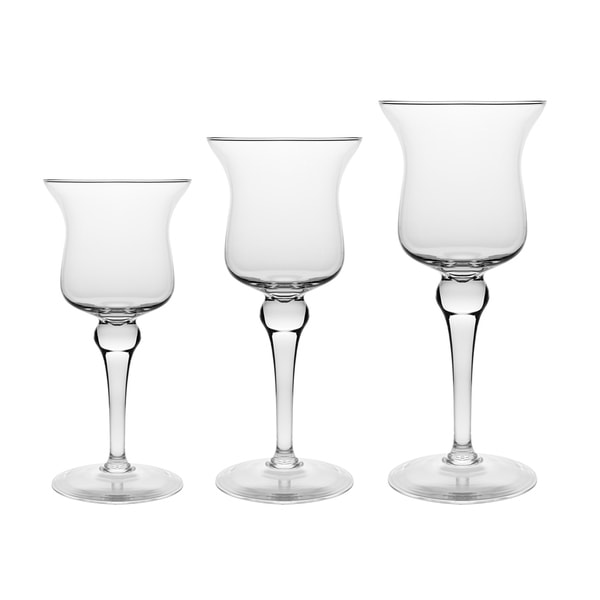 Set of 3 Pillar Candle Holders