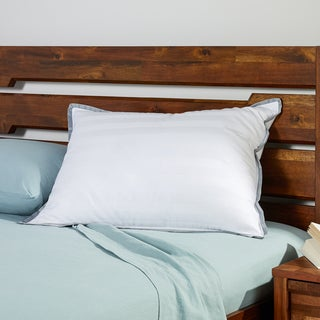 CoolDown Temperature Regulating Down Jumbo Pillow - White