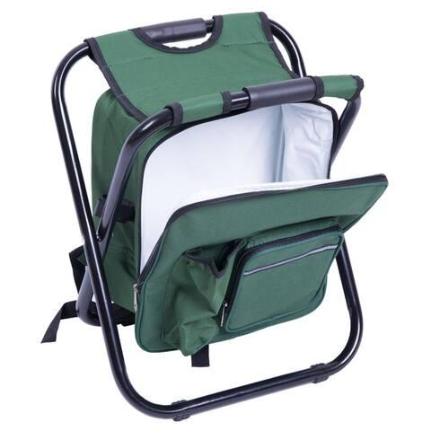 Folding 3 in 1 Stool / Backpack / Cooler Bag