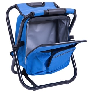 Folding 3 in 1 Stool / Backpack / Cooler Bag
