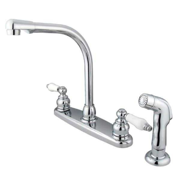 Victorian Chrome Kitchen Faucet