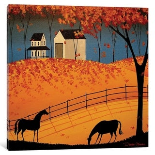 "iCanvas ""Shadows Of Autumn"" by Debbie Criswell"