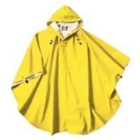 Charles River Youth Poncho, Yellow One Size Fit