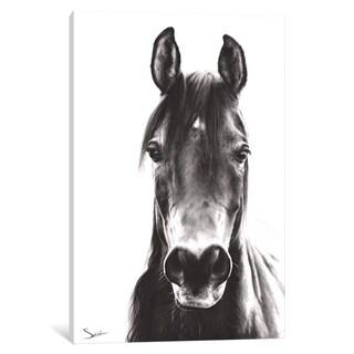 iCanvas ''Horse Portrait'' by Eric Sweet