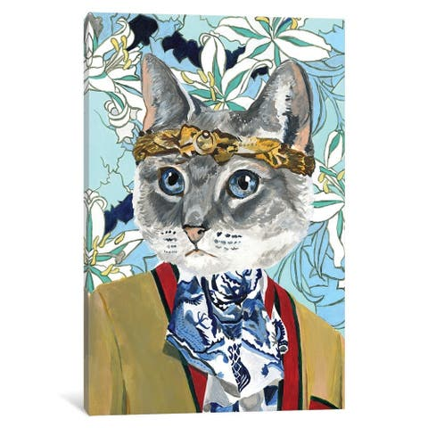 iCanvas ''Gucci Cat'' by Heather Perry