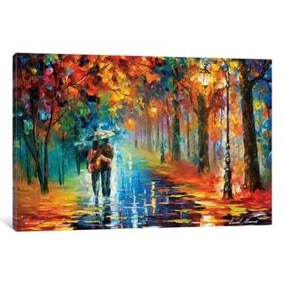 """iCanvas """"Autumn Hug"""" by Leonid Afremov"""
