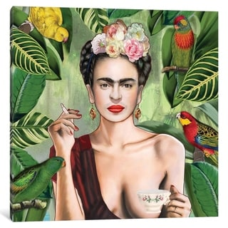 iCanvas ''Frida Con Amigos'' by Nettsch