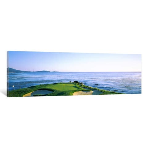iCanvas ''7th Hole, Pebble Beach Golf Links'' by Panoramic Images