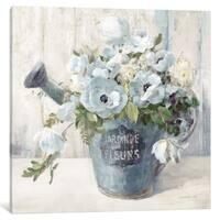 iCanvas ''Garden Blooms II In Blue'' by Danhui Nai
