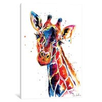 iCanvas ''Giraffe'' by Weekday Best