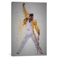 iCanvas ''Freddie Mercury'' by TM Creative Design