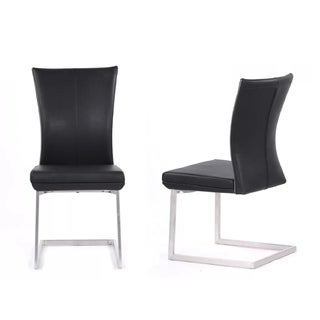 Modrest Auden Modern Black Dining Chair (Set of 2)