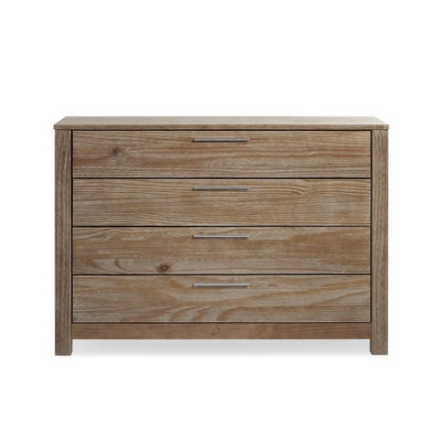 Grain Wood Furniture LOFT 4 drawer Dresser Solid Wood