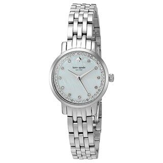 Kate Spade Women's KSW1241 Mini Monterey Silver-tone Stainless Steel Watch