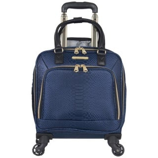"Aimee Kestenberg 'Parker"" 16in 4-Wheel Spinner 13in Laptop & Tablet Anti-Theft RFID Underseater Carry On Suitcase"