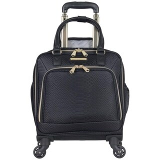 "Aimee Kestenberg 'Parker"" 16in 4-Wheel Spinner 13in Laptop & Tablet Anti-Theft RFID Underseater Carry On Suitcase"