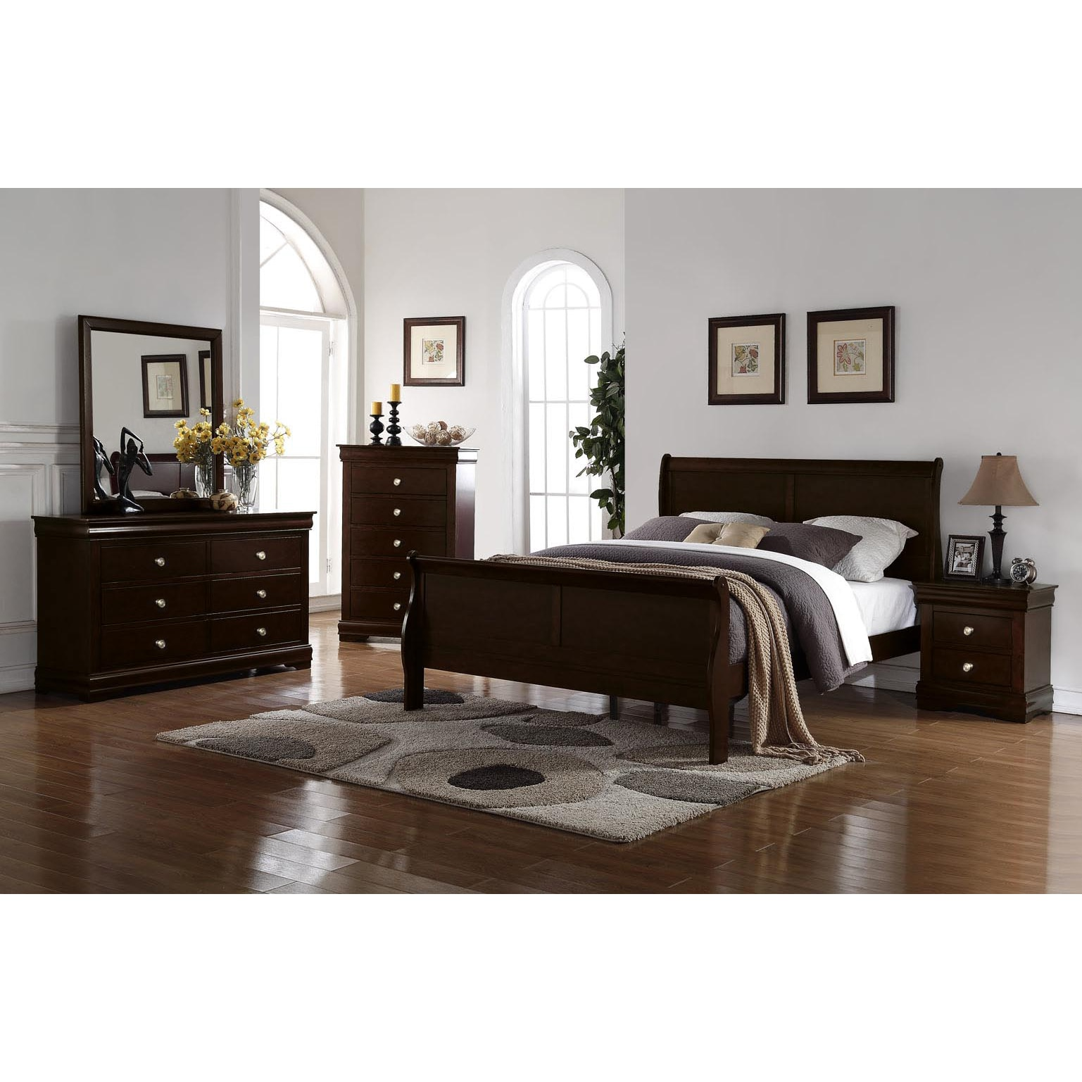 Ocala Louis Philippe 4pc Bedroom Set By Greyson Living Overstock 25438254