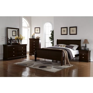 Ocala Louis Philippe 4PC Bedroom Set by Greyson Living