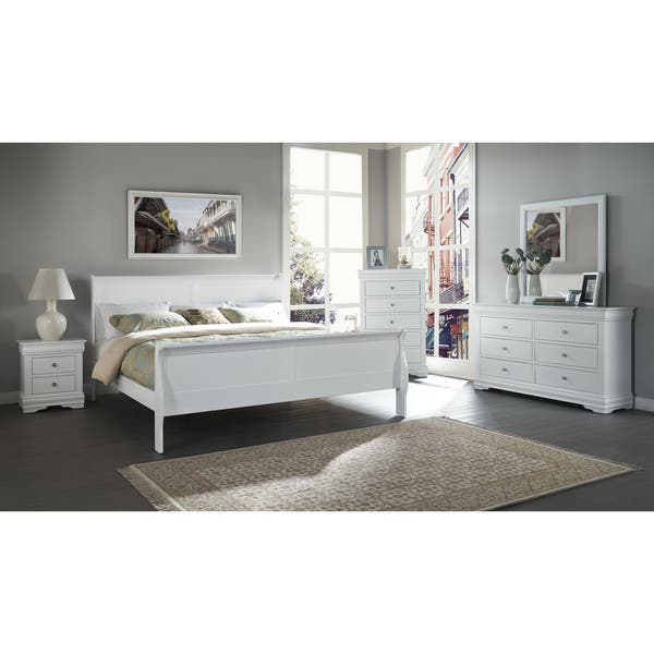 Ocala Louis Philippe 5pc Bedroom Set By Greyson Living Overstock 25438257