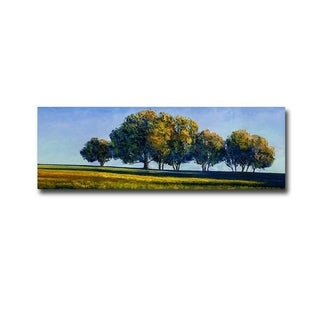 The Meadows Wide by Rachel Harvey Gallery Wrapped Canvas Giclee Art (15 in x 45 in, Ready to Hang)