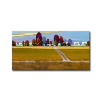The Road Back by Mac Stevenson Gallery Wrapped Canvas Giclee Art (18 in x 36 in, Ready to Hang)