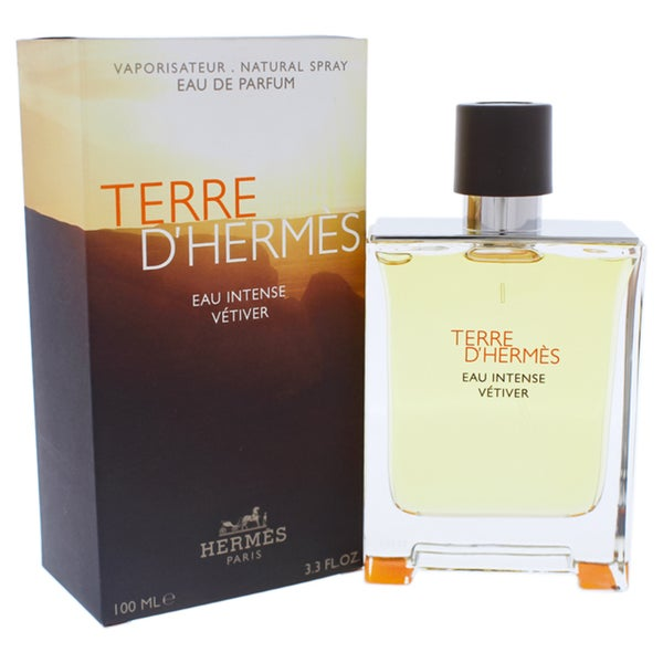 Hermes Spray 3 Men's Ounce Terre Vétiver D'hermès 3 Eau De Parfum Intense ED9HW2IYe