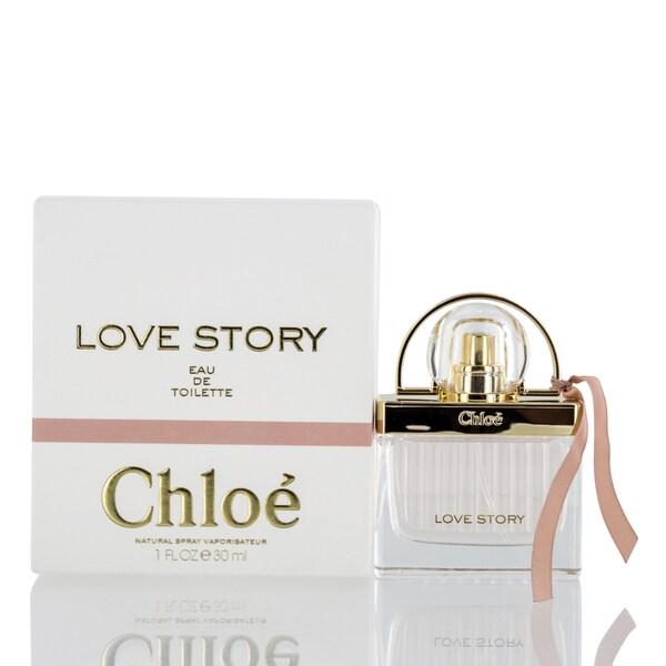 beb80e208a8f Shop Chloe Chloe Love Story Women's 1.0-ounce Eau de Toilette Spray - Free  Shipping On Orders Over $45 - Overstock - 25438341