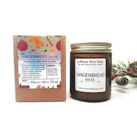 Gingerbread House Wood Wick Soy Candle