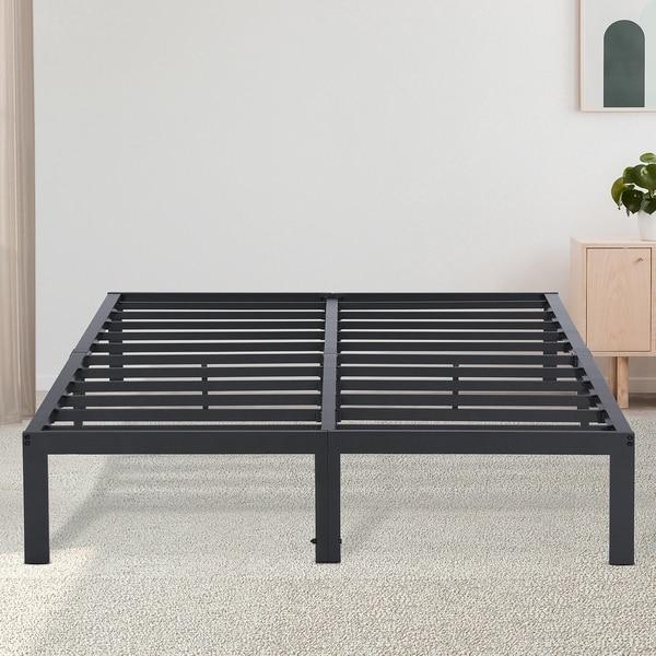 Sleeplanner Dura Metal Steel Slate Bed Frame - Gray 14BX13F