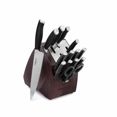 Calphalon Contemporary Self-Sharpening 15-piece Knife Block Set