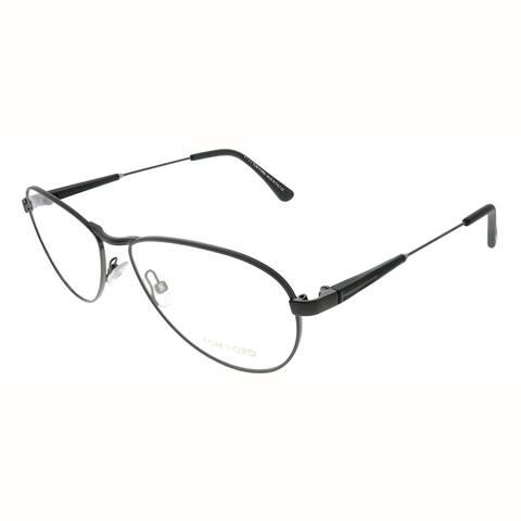 Tom Ford Aviator FT 5297 009 Unisex Matte Anthracite Frame Eyeglasses