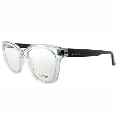 Valentino Square VL 2684 112 Unisex Crystal Frame Eyeglasses