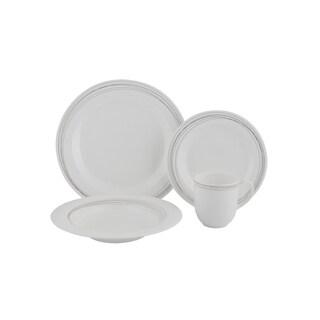 Light 4Pc Place Setting - bone china